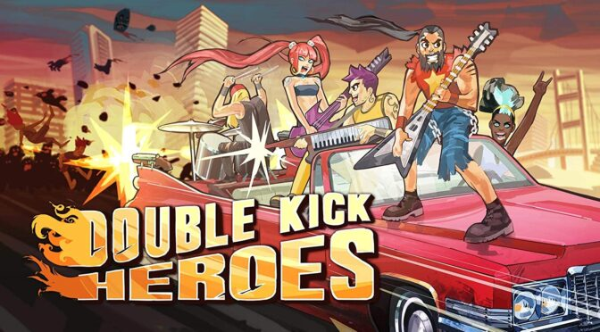 Double Kick Heroes vinyl soundtrack up for preorder via G4F Records