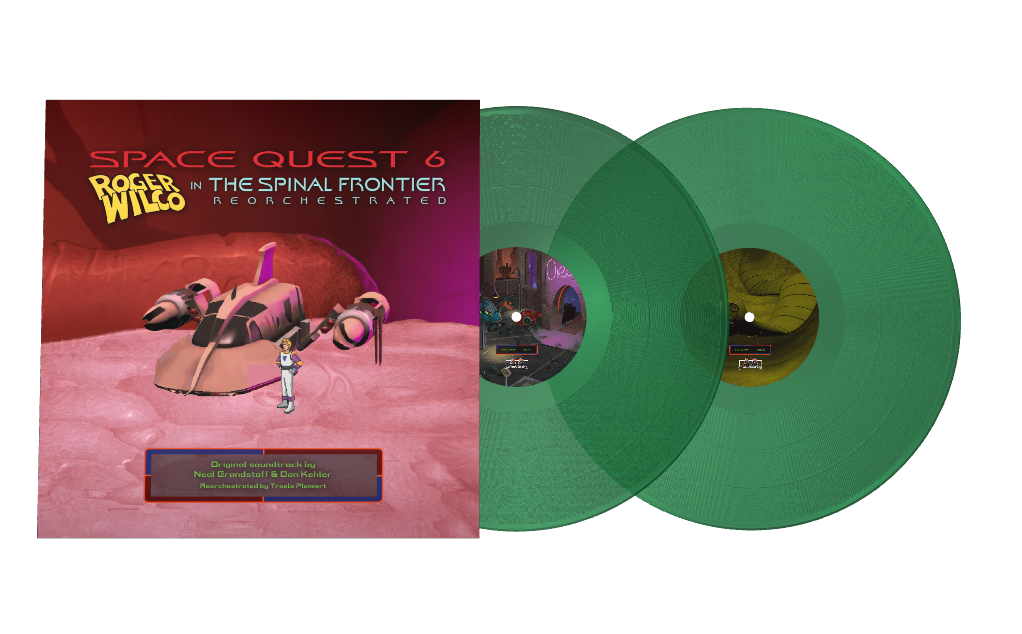 Space Quest 6 Reorchestrated - Front