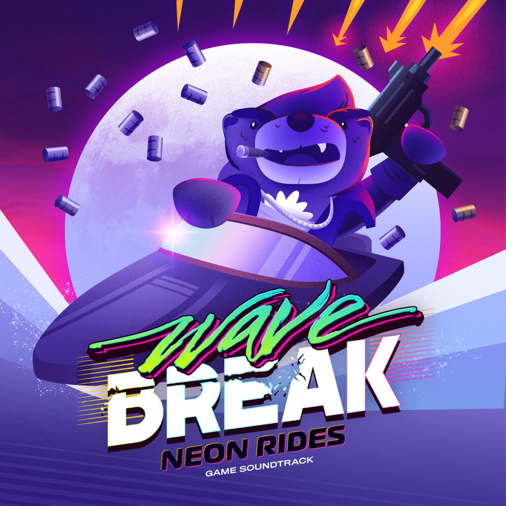Wave Break: Neon Rides - Front