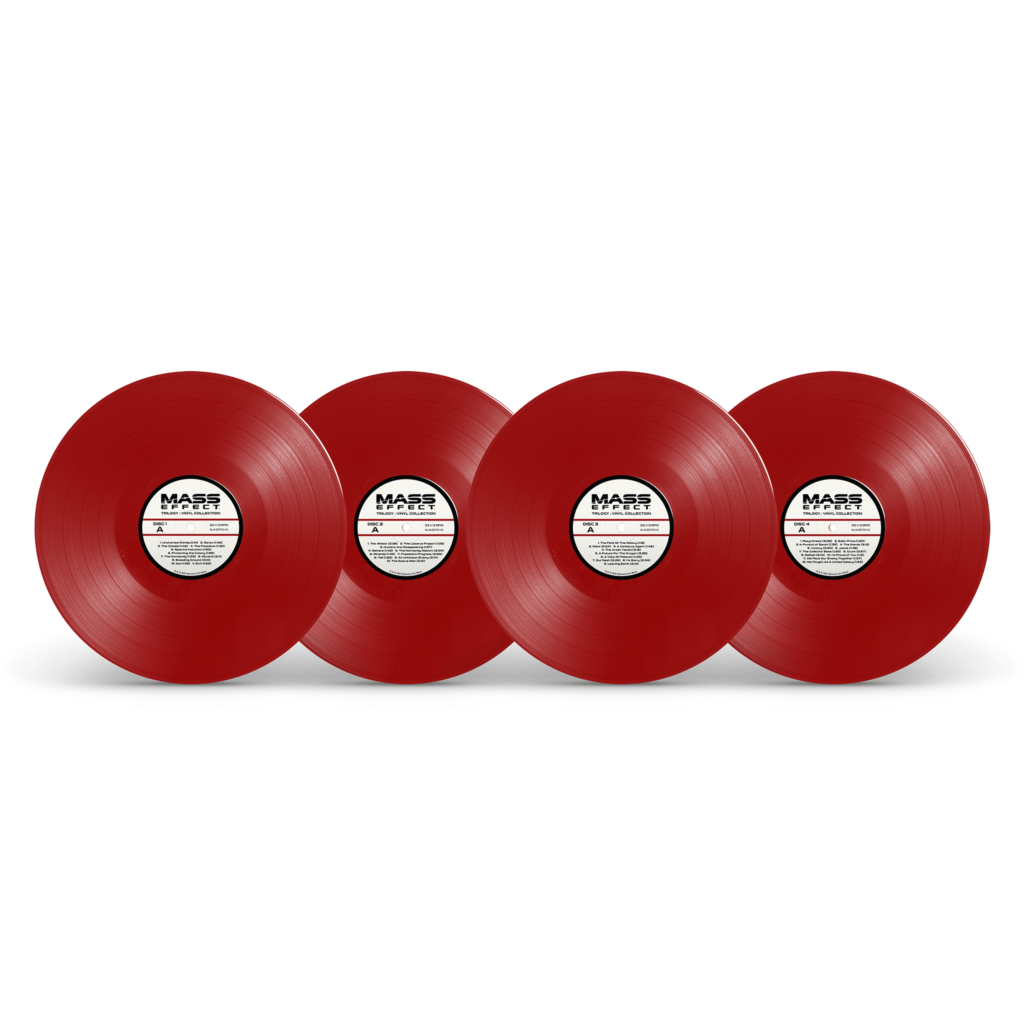 Mass Effect Trilogy - Red Vinyl