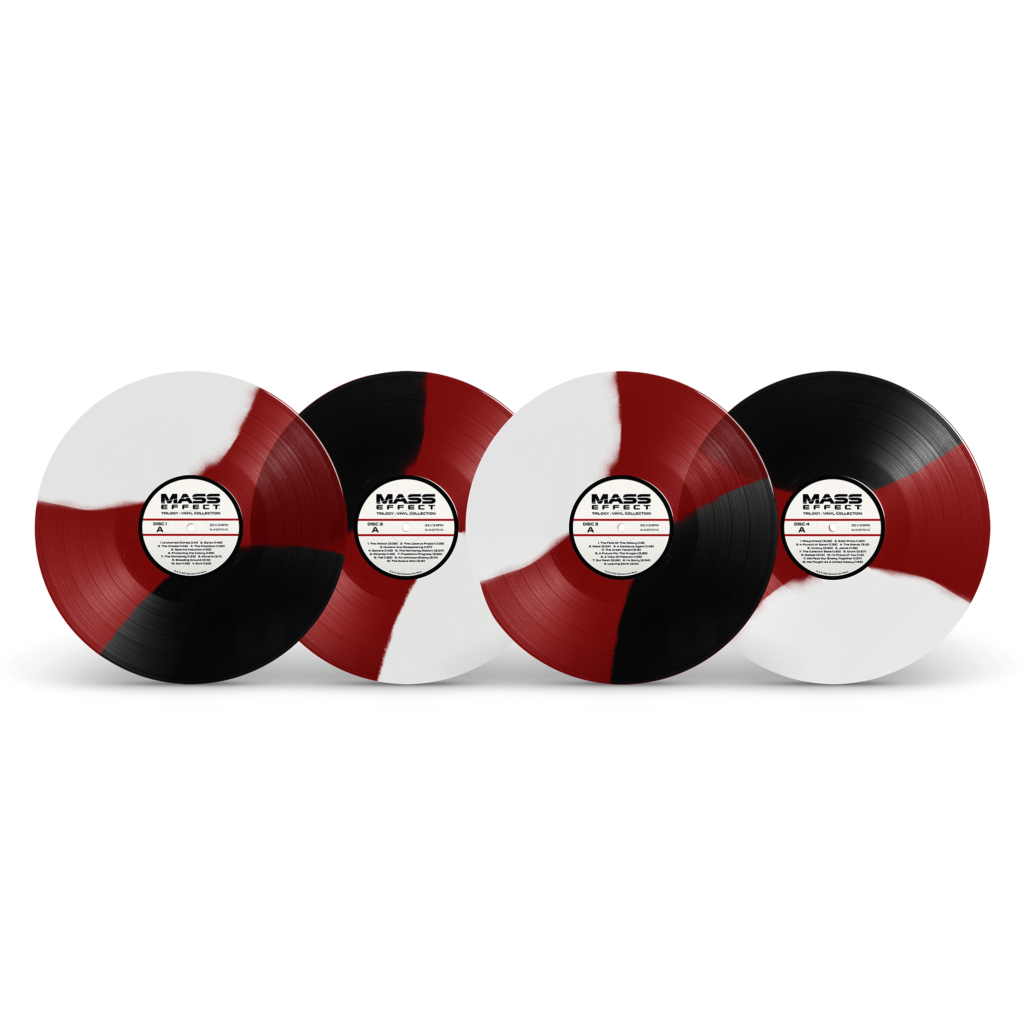 Mass Effect Trilogy - Tricolor Vinyl