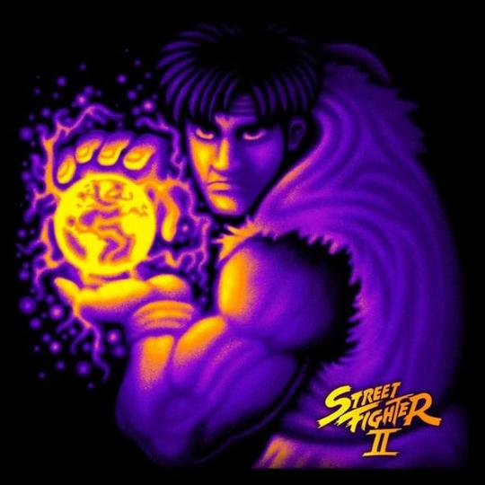 Street Fighter II Cover - Front
