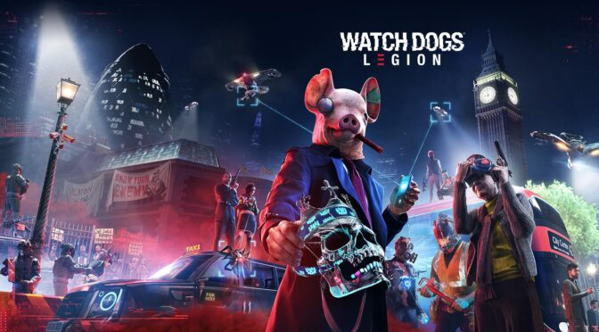 Watch Dogs Legion vinyl soundtrack up for preorder via Laced Records