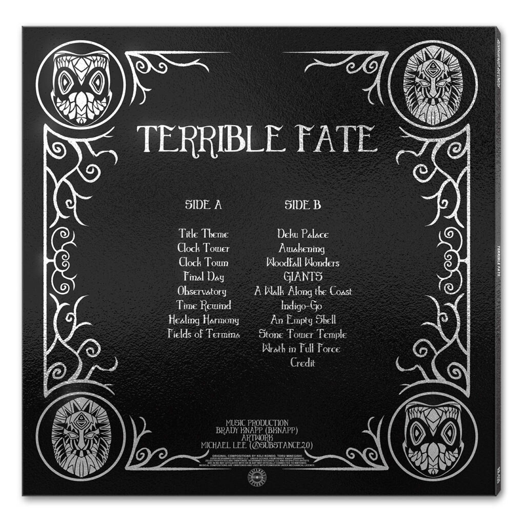 Terrible Fate - Back