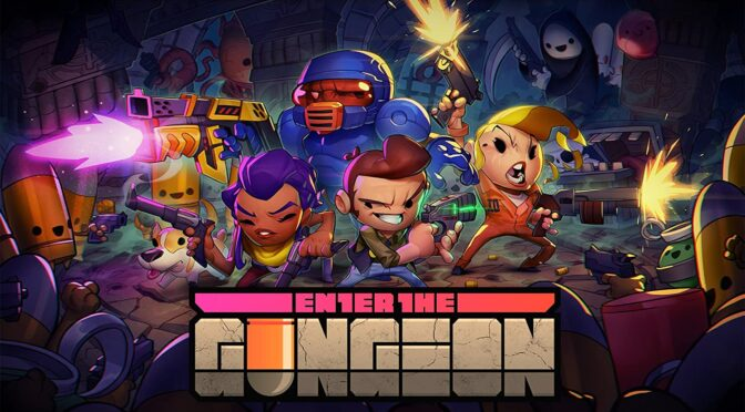 Laced Records are releasing the Enter And Exit The Gungeon soundtracks on vinyl