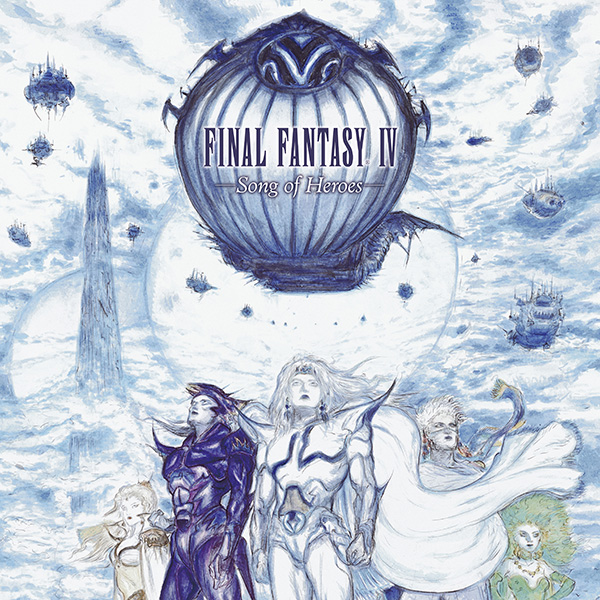 Final Fantasy IV: Song Of Heroes - Front
