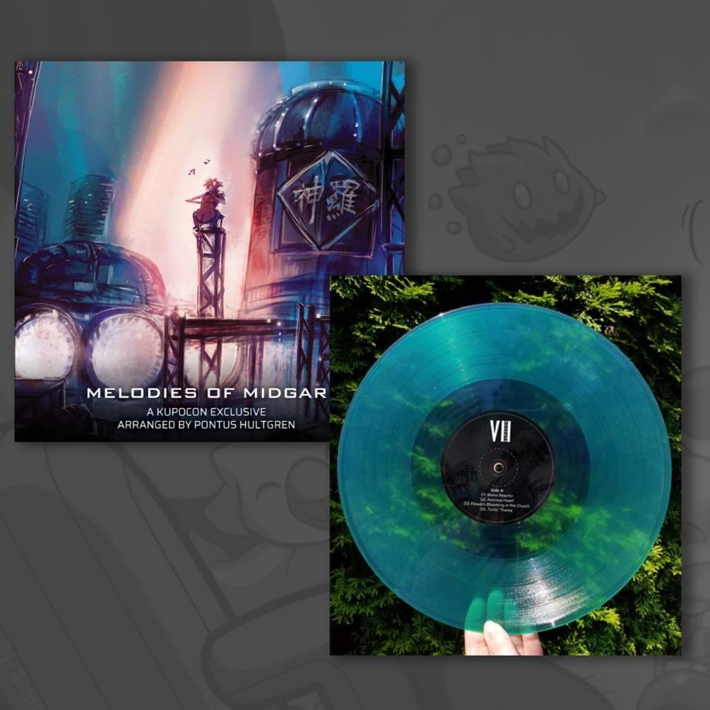 Melodies Of Midgar - Front & Vinyl