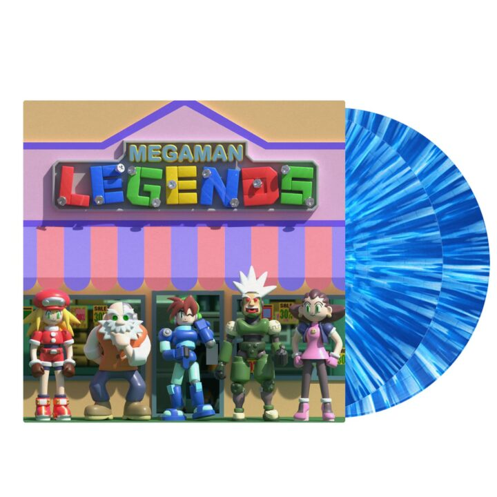Mega Man Legends - Front STS