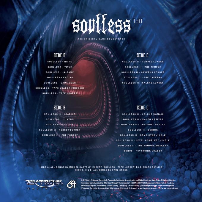 Soulless I & II - Back