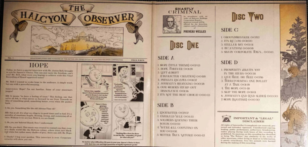 The Outer Worlds - Gatefold