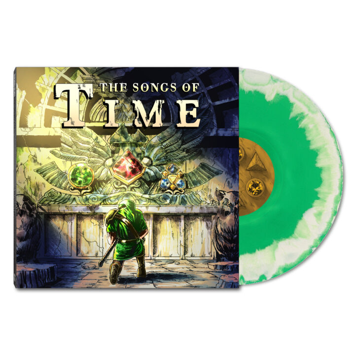 The Songs Of Time - Front & Green/White Vinyl