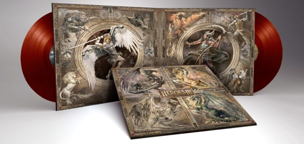 Heroes Of Might And Magic III - Gatefold, Red