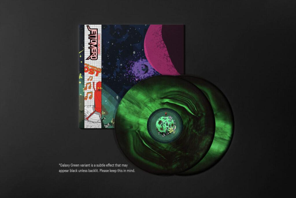 Jettomero - Vinyl, Green