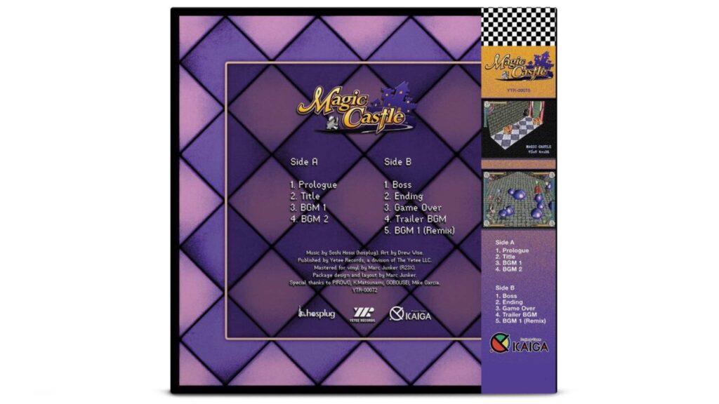 Magic Castle - Back