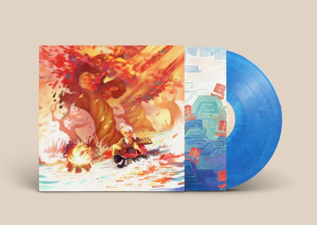 Windbound - Front, Blue Vinyl
