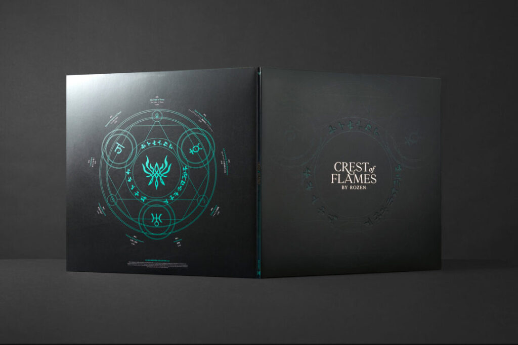 Crest Of Flames - Outer Gatefold
